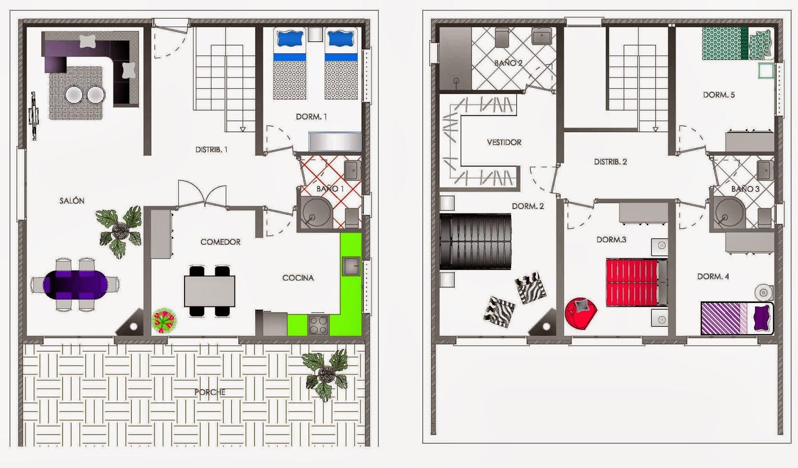Mi casa es feng proyecto asesor a feng shui for Plano casa feng shui ideal