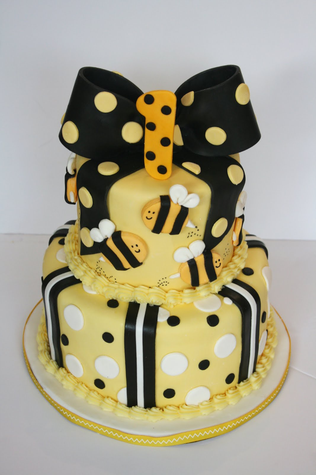 And Everything Sweet Bumble Bee 1st Birthday
