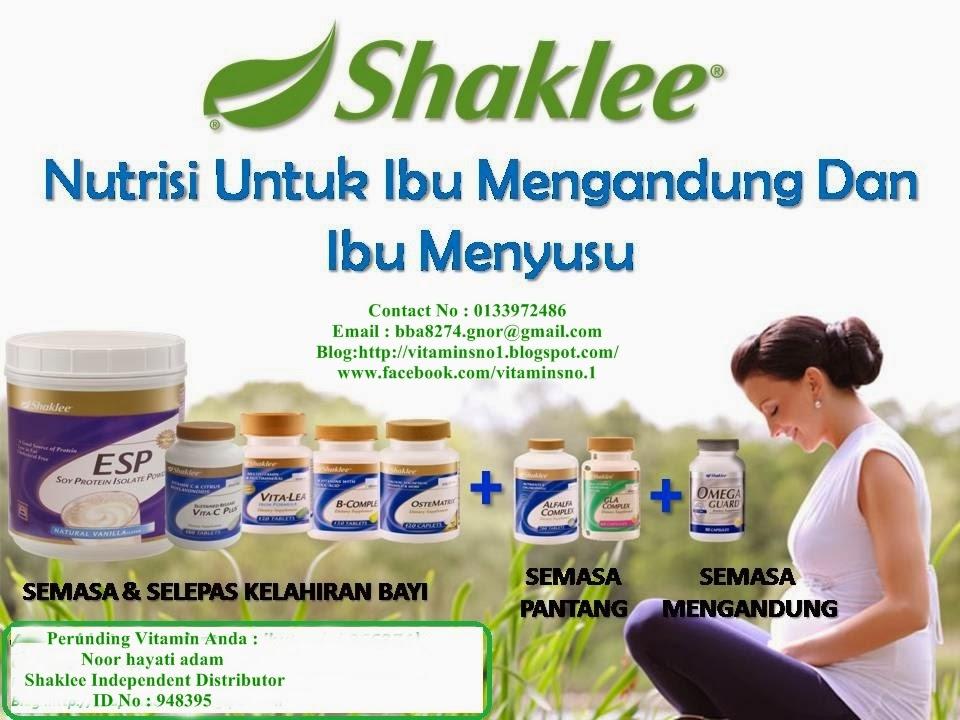 Nutrisi Untuk Ibu Mengandung Dan Ibu Menyusu
