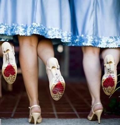 corazón suela de zapato
