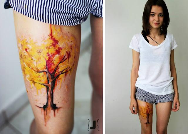 Tatuagem de Árvore - Tattoos