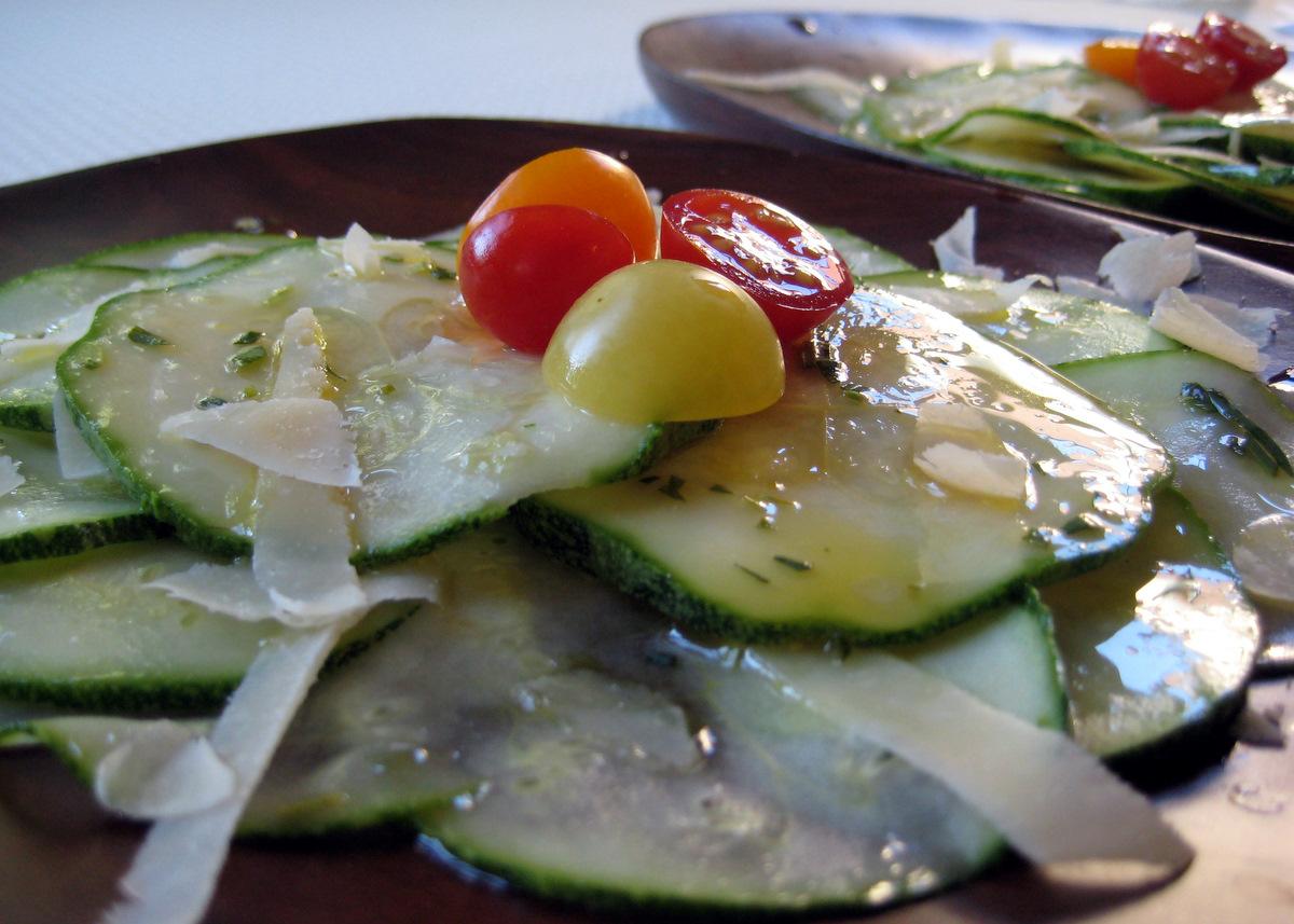 Cook Food. Mostly Plants.: Shaved Summer Squash Salad
