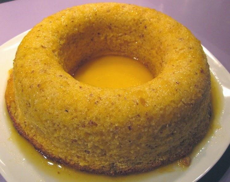 Dessert sans gluten à l'orange