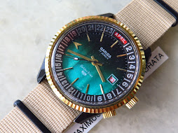 GARUDA GOLDEN STAR GREEN DIAL - AUTOMATIC - NEW OLD STOCK(NOS)