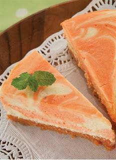 Resep Cake Cheesecake Marmer Ubi Merah