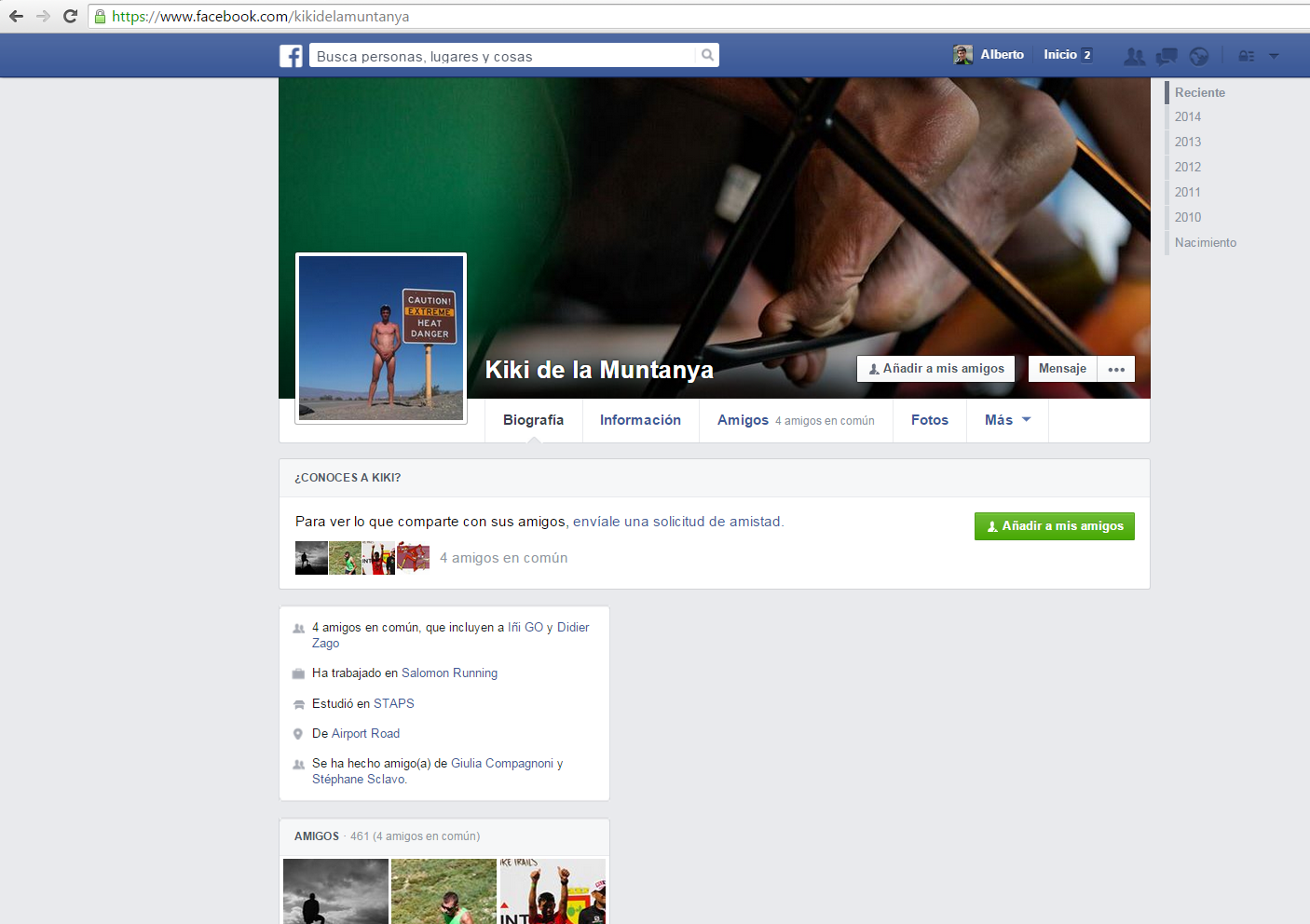 perfil privado facebook