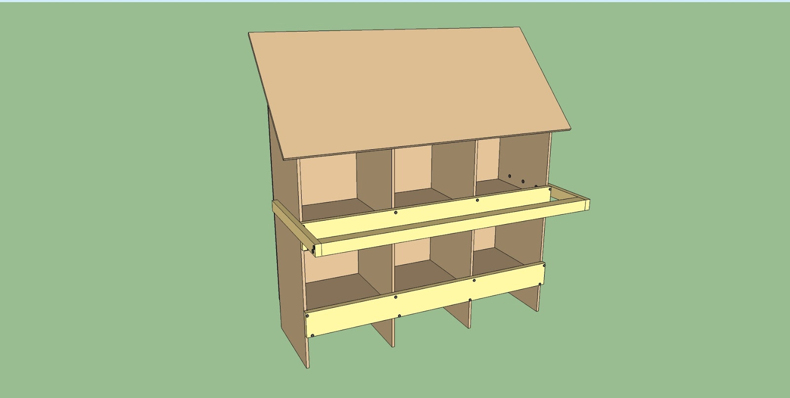 Building Chicken Nesting Boxes Plans 00