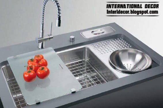 stainless steel kitchen sink, modern kitchen sinks