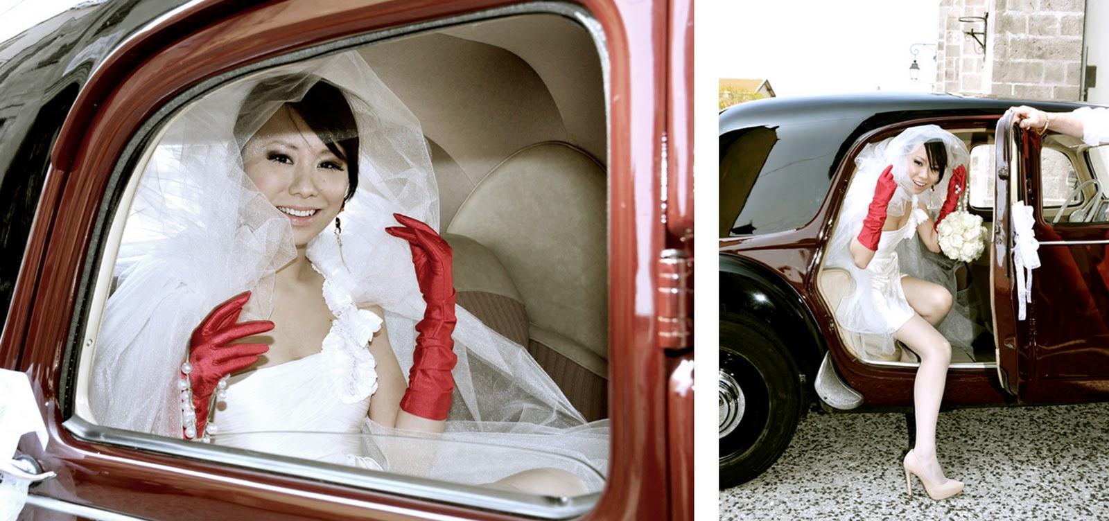Gerzat France  city photos : Sha et Axel ont voulu un petit mariage, l'occasion surtout de fêter ...