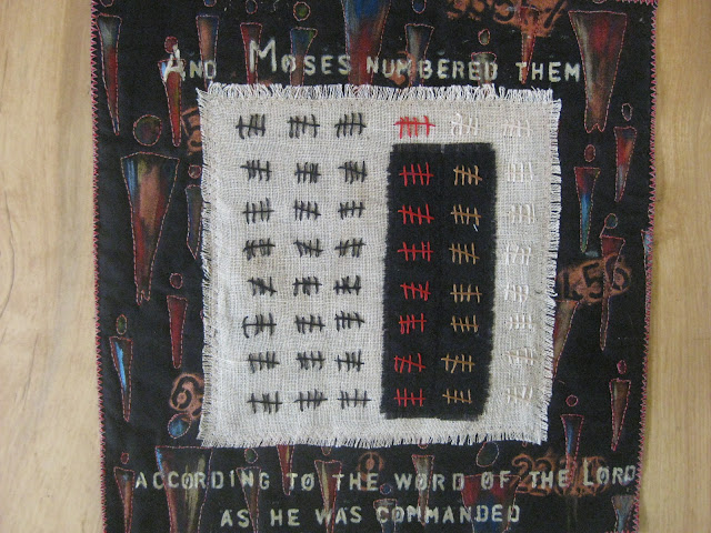 Final art quilt Numbers 3:16