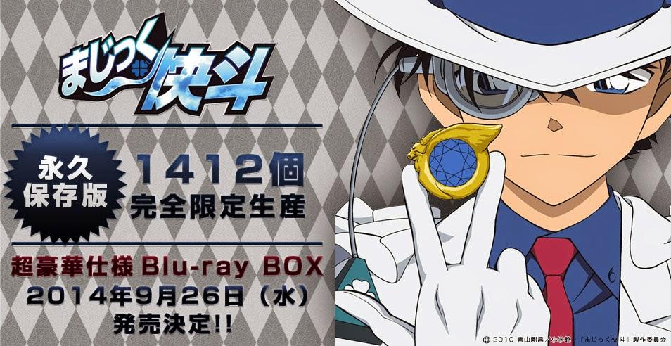 "Kaito Kid kini punya anime sendiri berjudul ""Magic Kaito"""