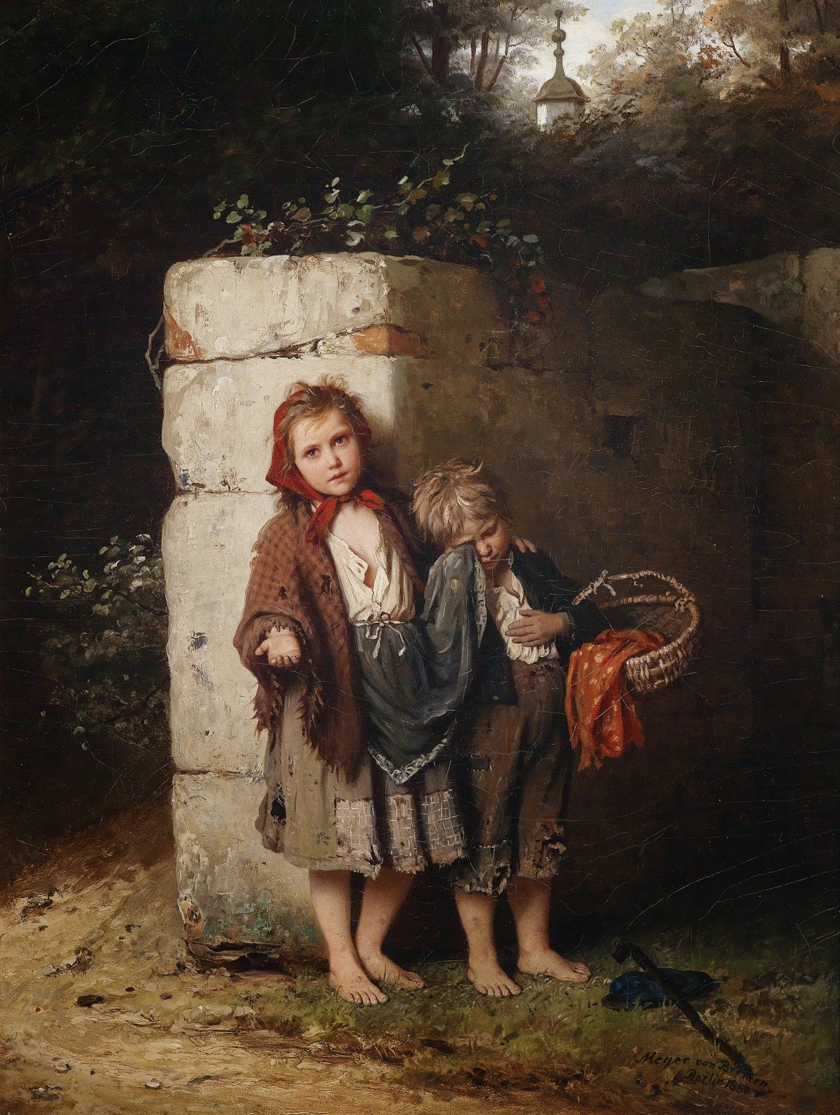 alenquerensis johann georg meyer von bremen pintor alem o 1813 1886 johann georg meyer. Black Bedroom Furniture Sets. Home Design Ideas