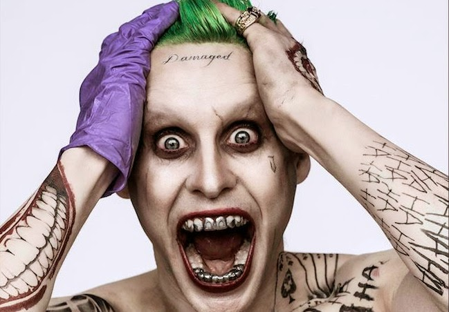 Jared Leto's Joker: First Look
