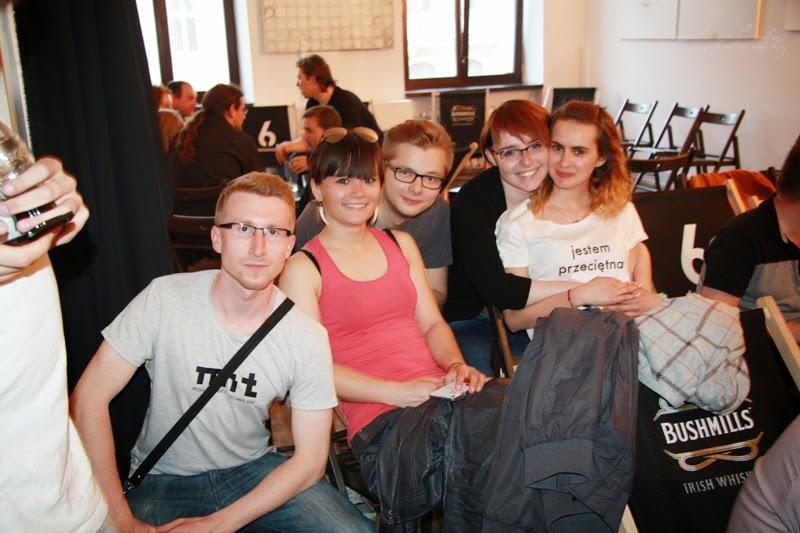 urodzinowe spotkanie Geek Girls Carrots Łódź, kobiety, mezczyzni, publicznosc ggc