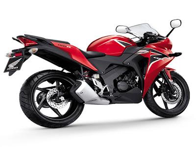 2011 Honda CBR150R Red
