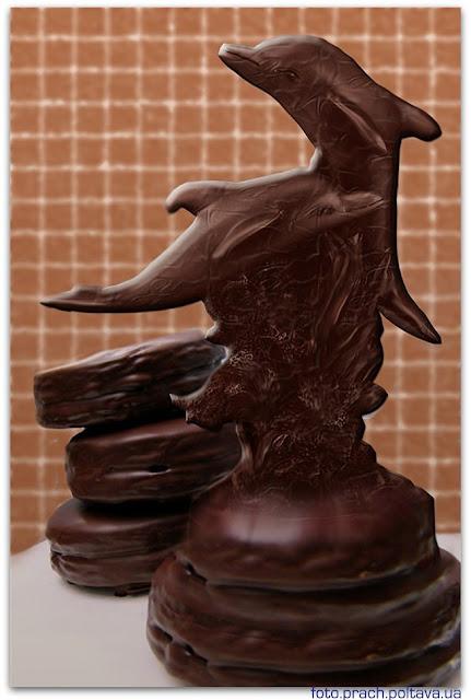 Шоколадные дельфины