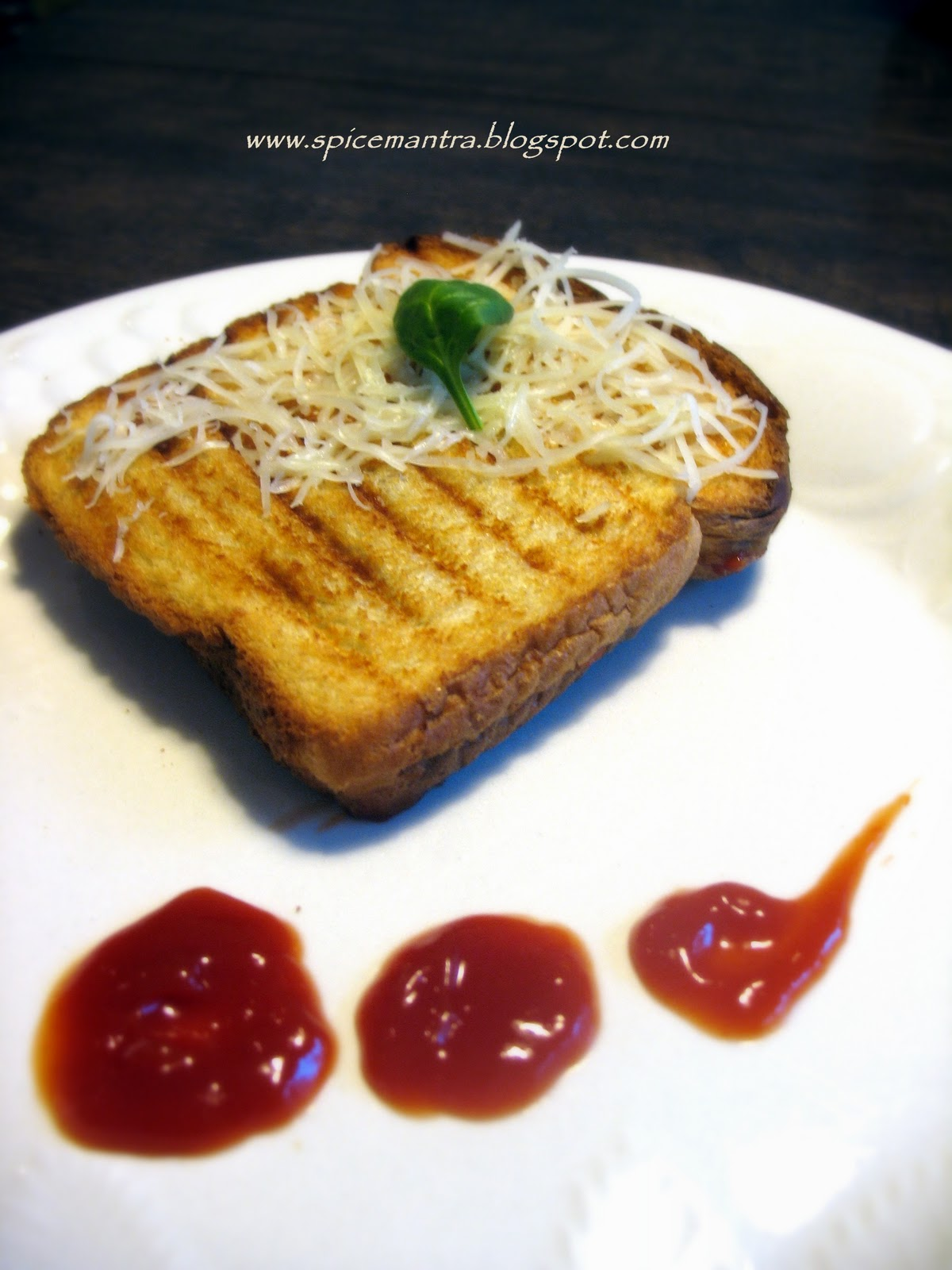 treat your tongue indian version of vegetable vegan toast