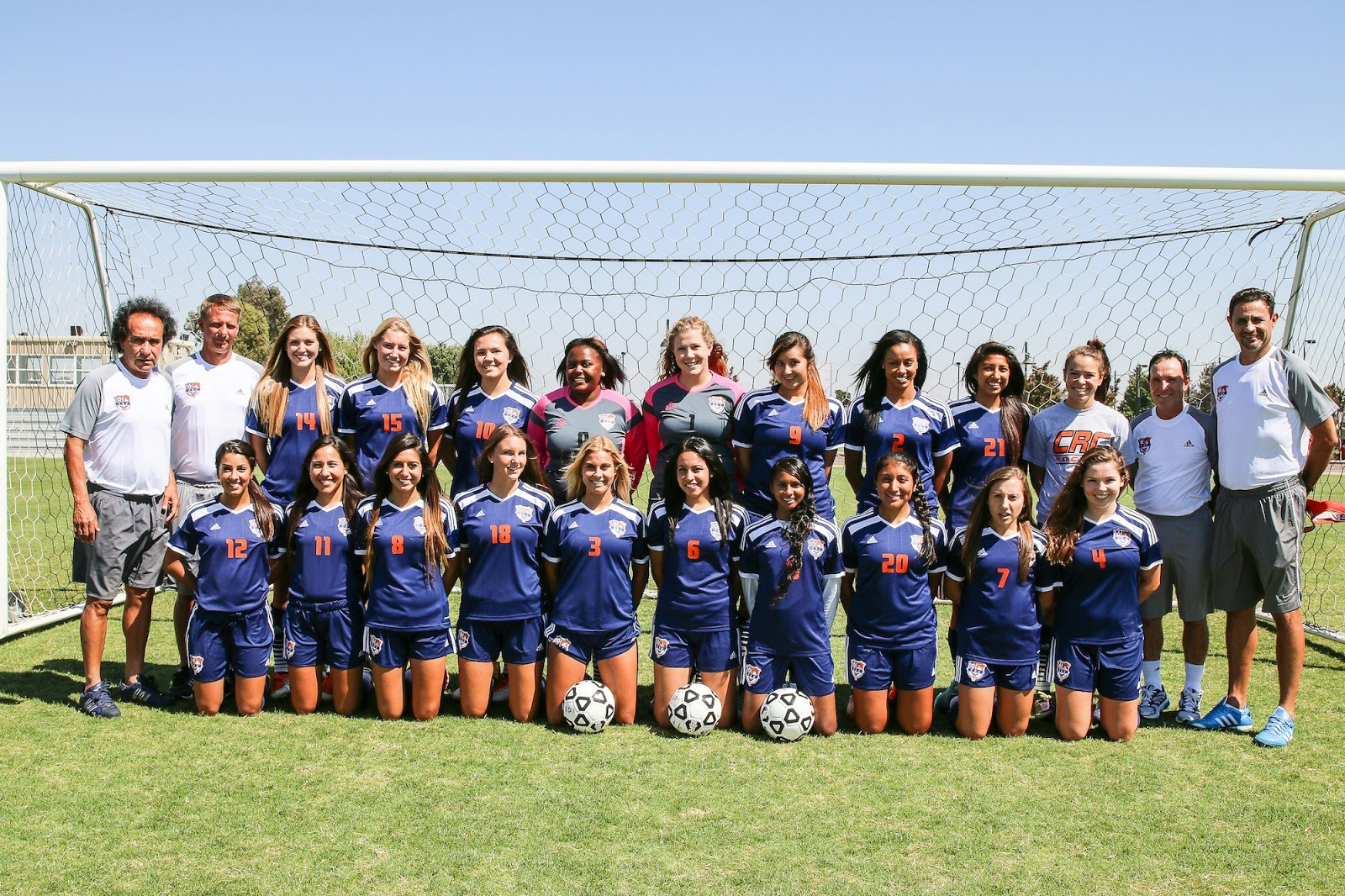 CRC Womens' Soccer Play For State Title