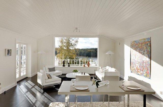 Casas suecas finest una casa en suecia con decoracin - La casa sueca ...