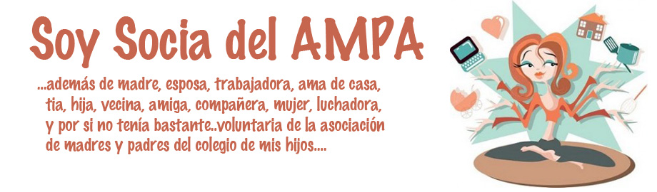Soy socia del  AMPA