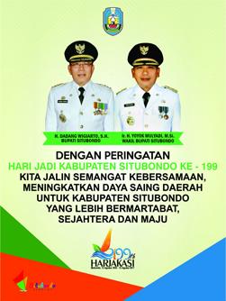 Selamat Hari Jadi Kabupaten Situbondo Yang Ke 199