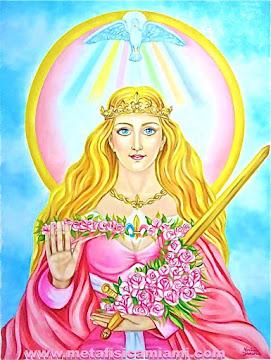 Lady Rowena, Chohán del Rayo Rosa del Amor Divino. Espíritu Envolvente del Año 2013