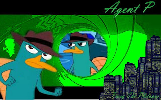 agent P - Perry the platypus
