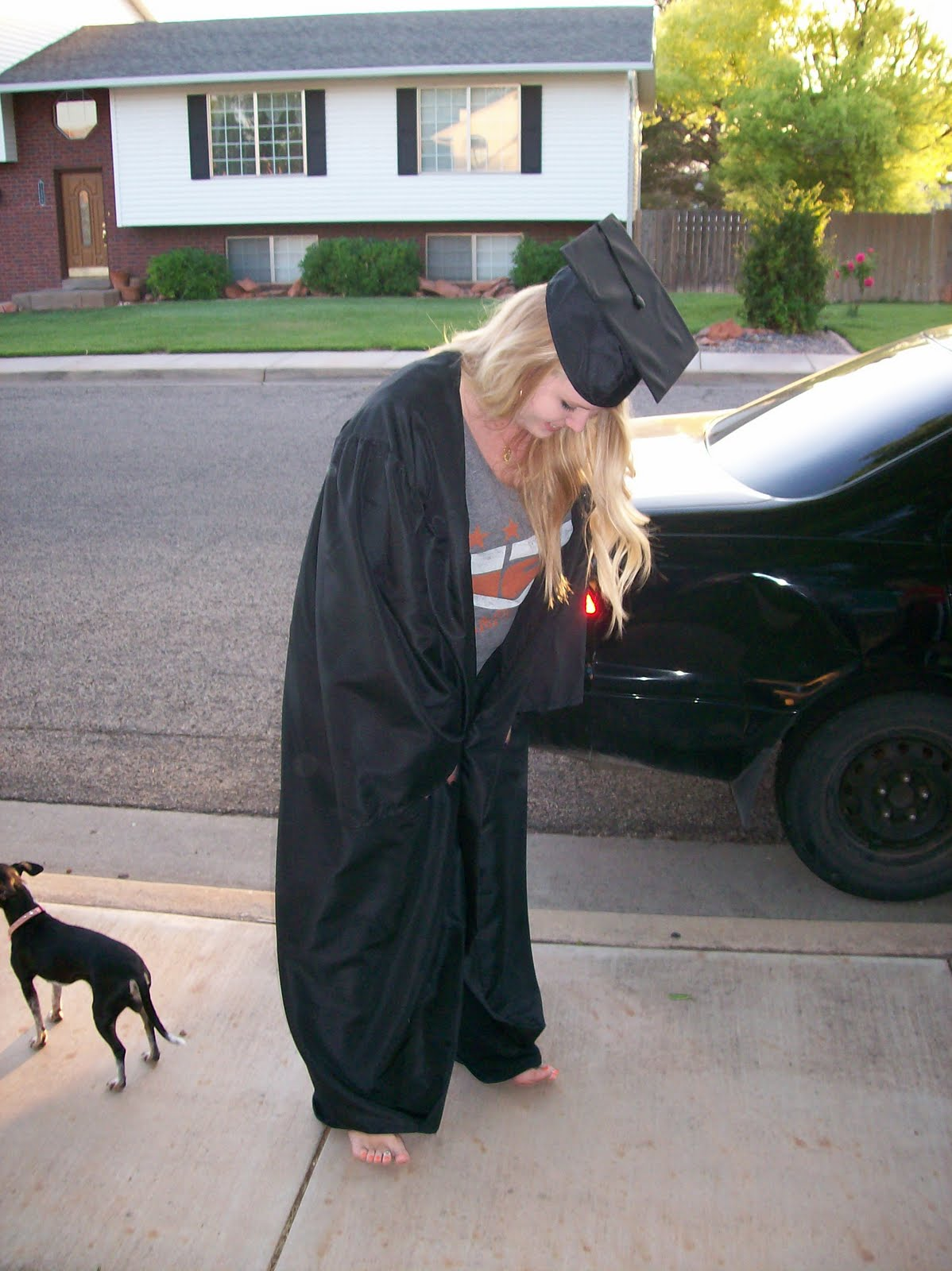 My Best-Selling Autobiography: My big brother graduated.