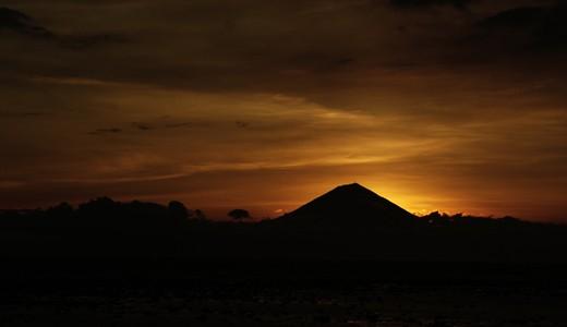 Menikmati Sunset Di Gili Terawangan