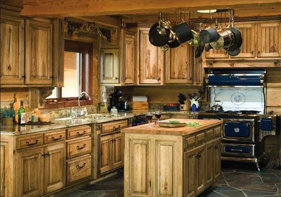 Cuisine pour intérieur bois