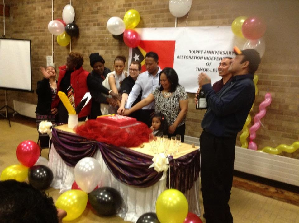East Timor Independence day 2014 in Peterborough