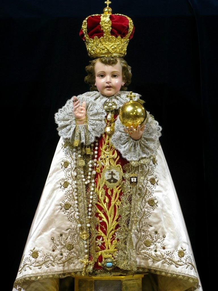 Milagroso Niño Jesús de Praga.