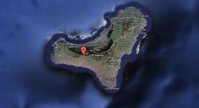 terremoto sentido en el municipio de Frontera El Hierro, 31 agosto
