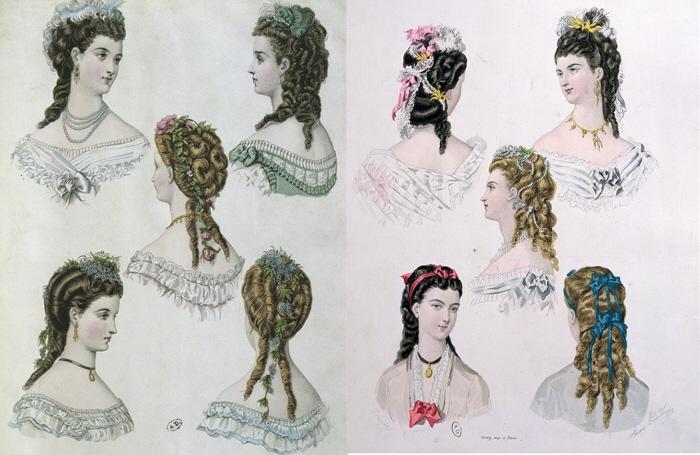 Как сделать прически начала 19 века видео