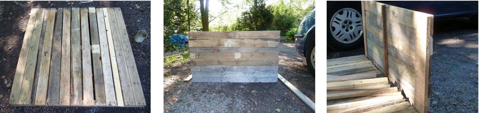terrasse bois de recuperation diverses id es de conception de patio en bois pour. Black Bedroom Furniture Sets. Home Design Ideas