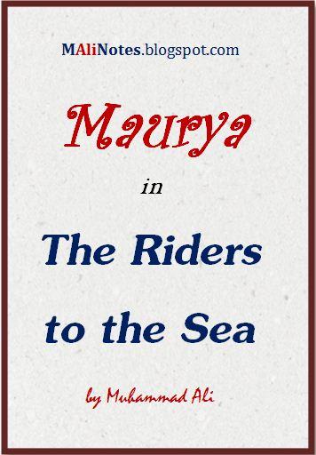 riders to the sea analysis