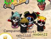 Con mis amigos :)