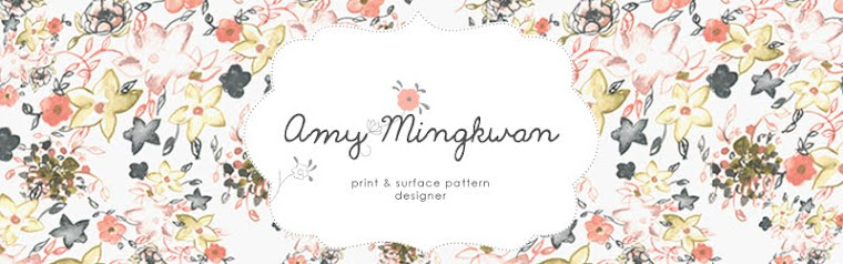 Amy Mingkwan - Print and Surface Pattern Designer