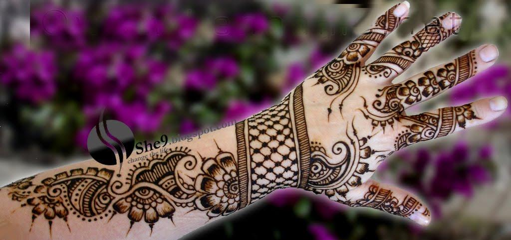 Mehndi Designs For Hands For Engagement : Wedding mehndi designs for hands