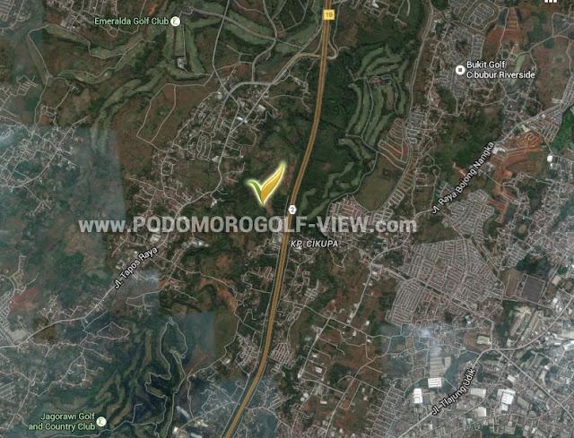 Peta Lokasi PGV Depok Cimanggis