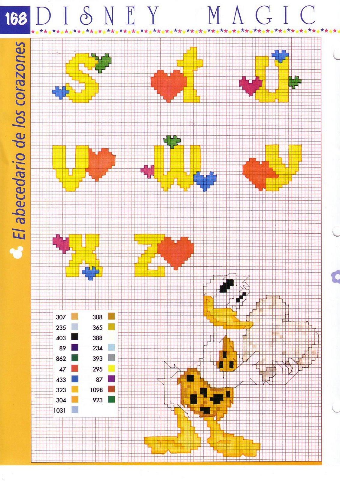 Lujoso Patrones Alfabeto Bordado Foto - Ideas de Patrones de Costura ...