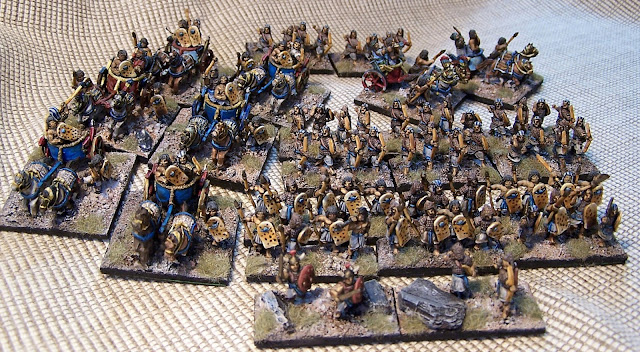 I/22 New Kingdom Egyptian DBA Army