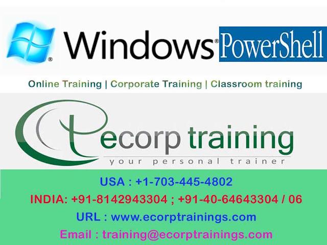 Windows Powershell online training