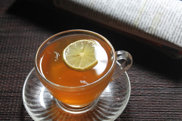 ... Lemon & Honey Black Tea Recipe - Lemon Tea Recipe - Weightloss Tea