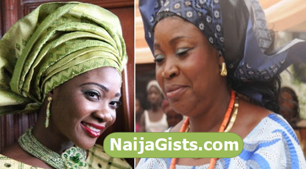 mercy johnson mum