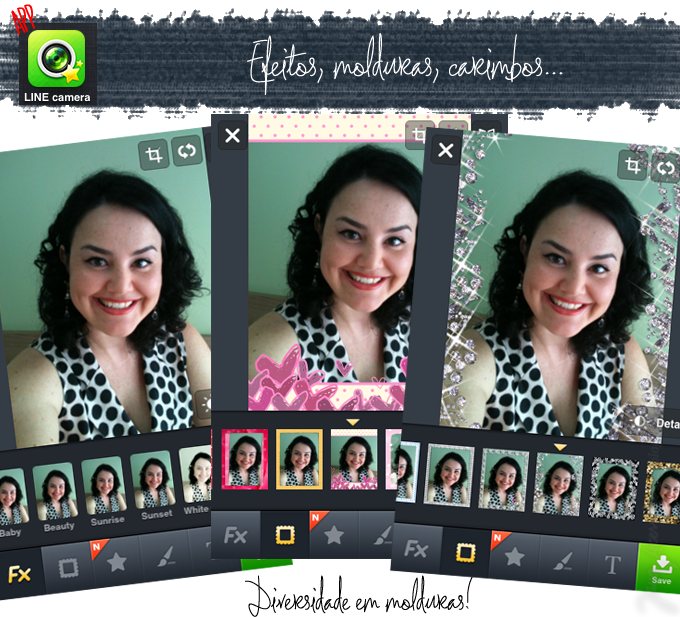 iphone, line camera, dica da Jana, blogger, blogueira, joinville, app