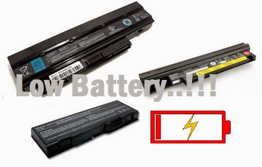 mengatasi baterai laptop boros