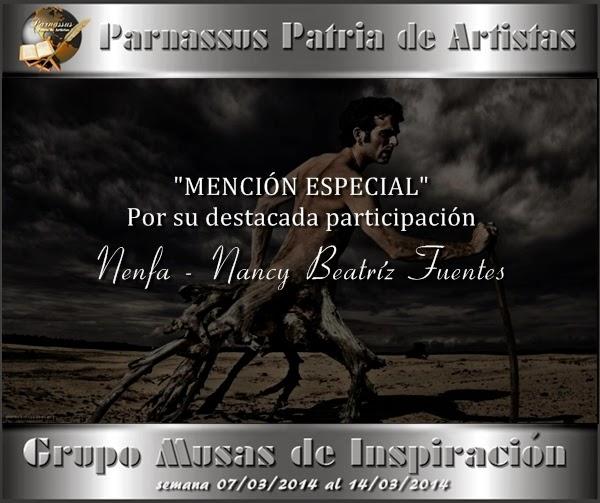 Mención especial Parnasus 2014