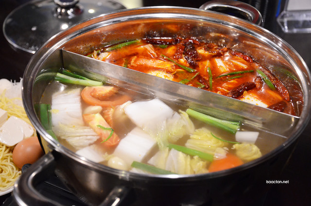 Steamboat - pork bone and special spicy soup broth - M24.90