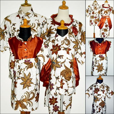 Dress Batik Sarimbit familly